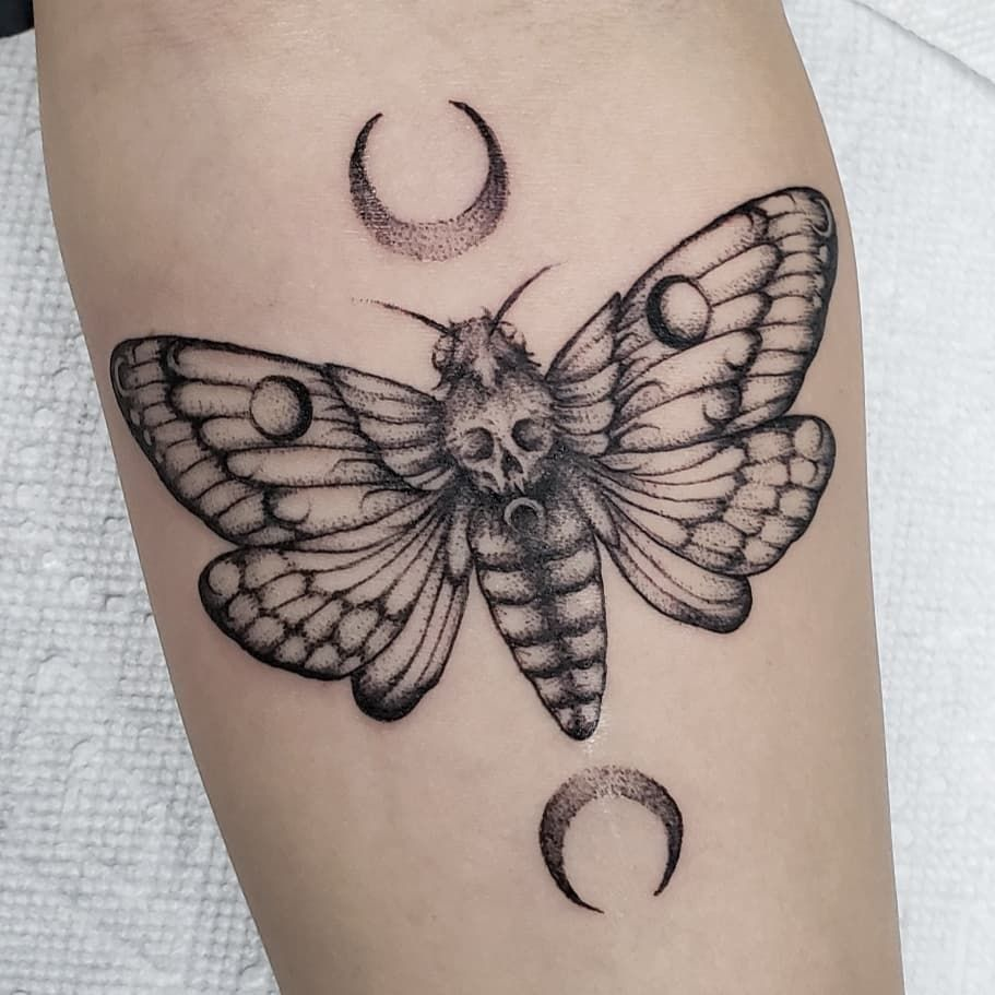 101 Amazing Moth Tattoo Designs You Needs To See! | Outsons | Men's Fashion Tips And Style Guide For 2020