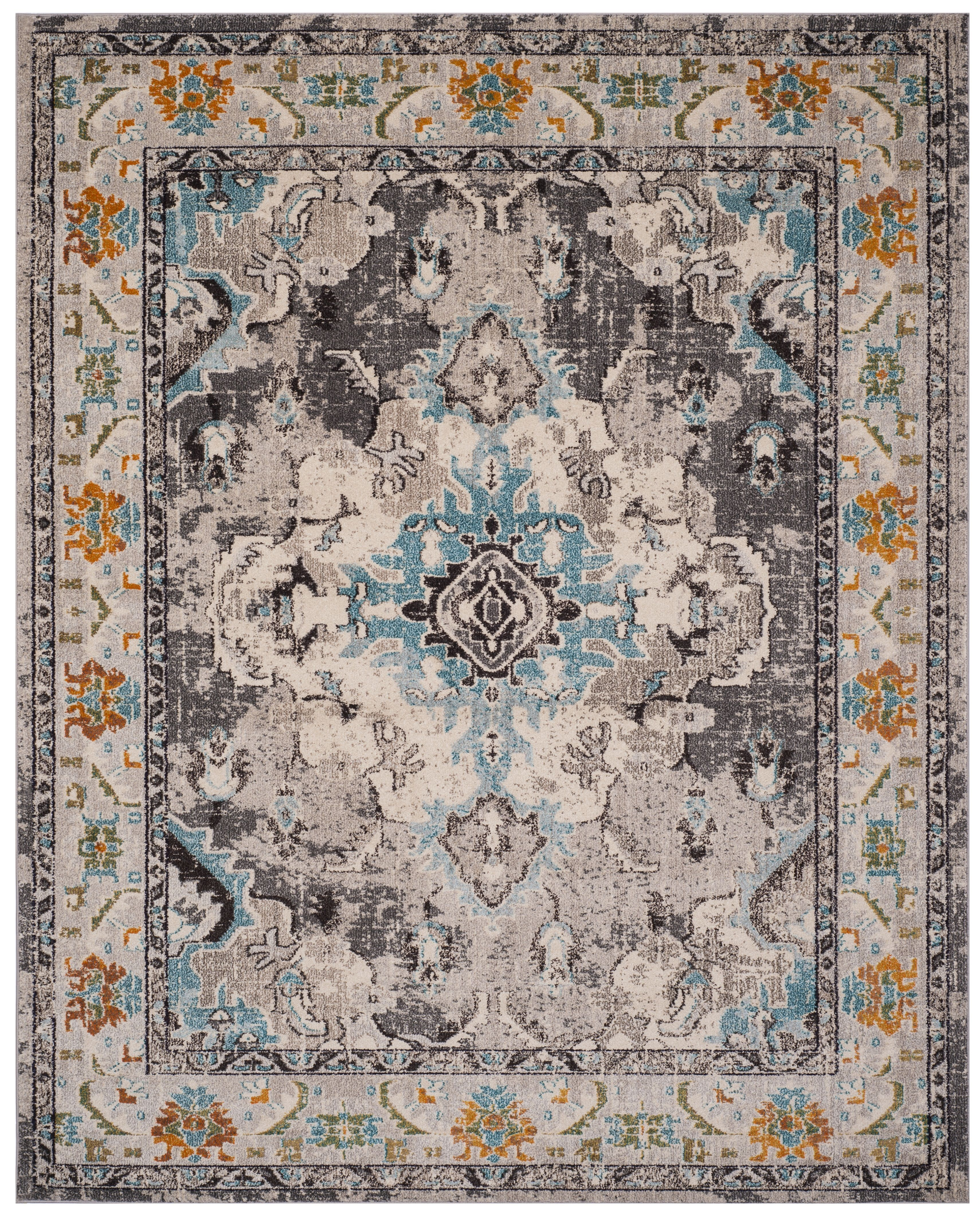 Safavieh Monaco 241 Collection Area Rug Grey Multi
