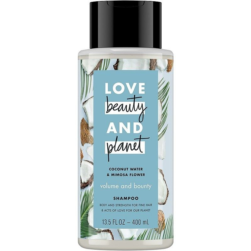 A Thickening Shampoo For Fine And Thin Hair It Uses Organic Coconut Water And Mimosa Flower For Lightweight Body And Volume And You Can Physically Feel The Th Coconut Shampoo Beauty