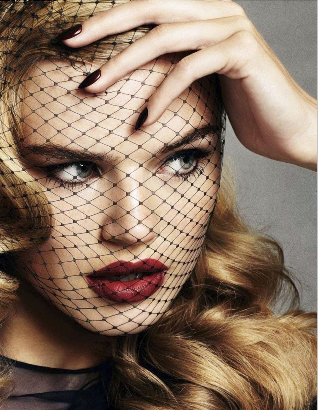 Milou sluis by david oldham for glamour uk december beauty