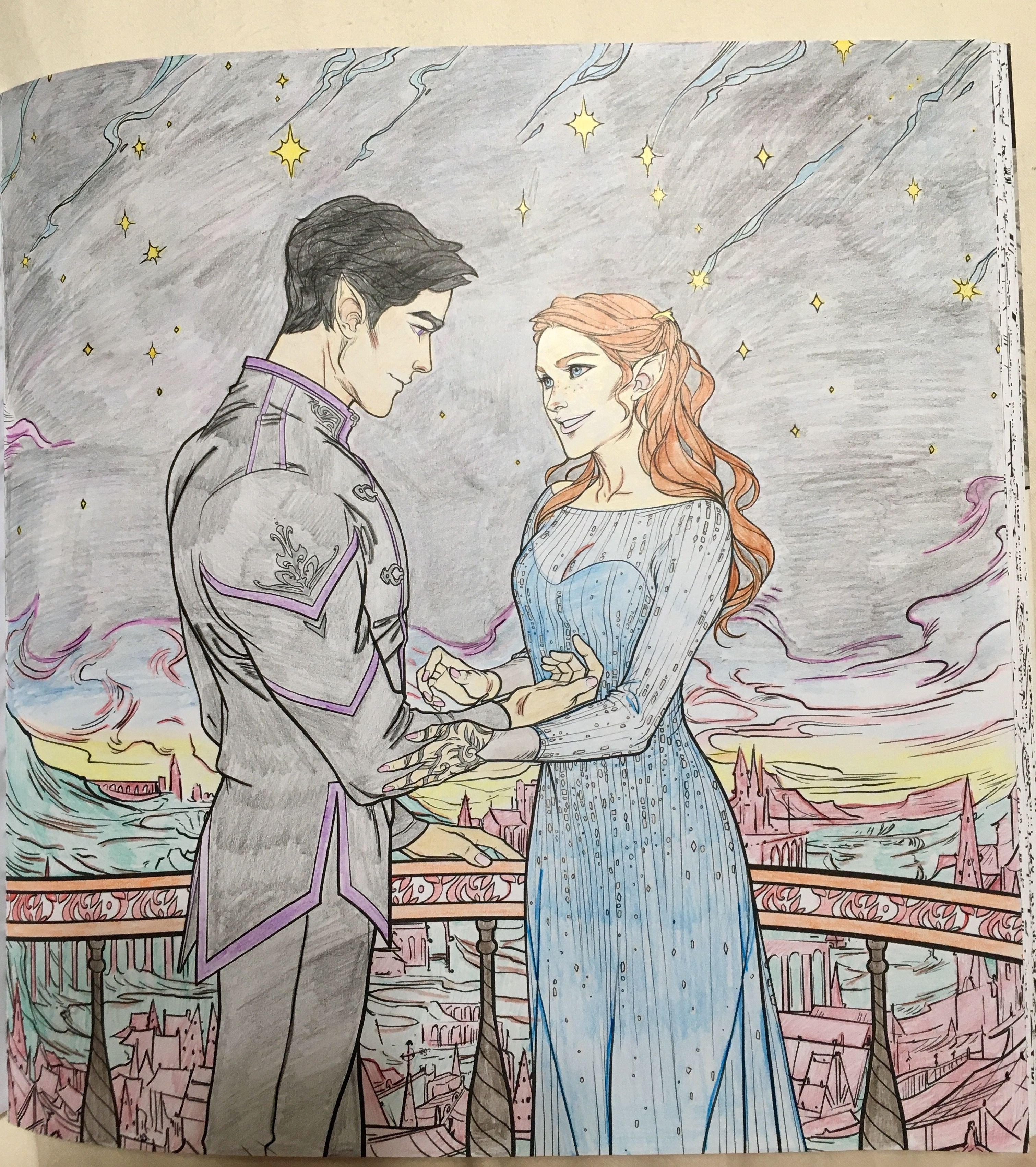 Starfall. One of my favorite scenes from a ACOMAF featured ...