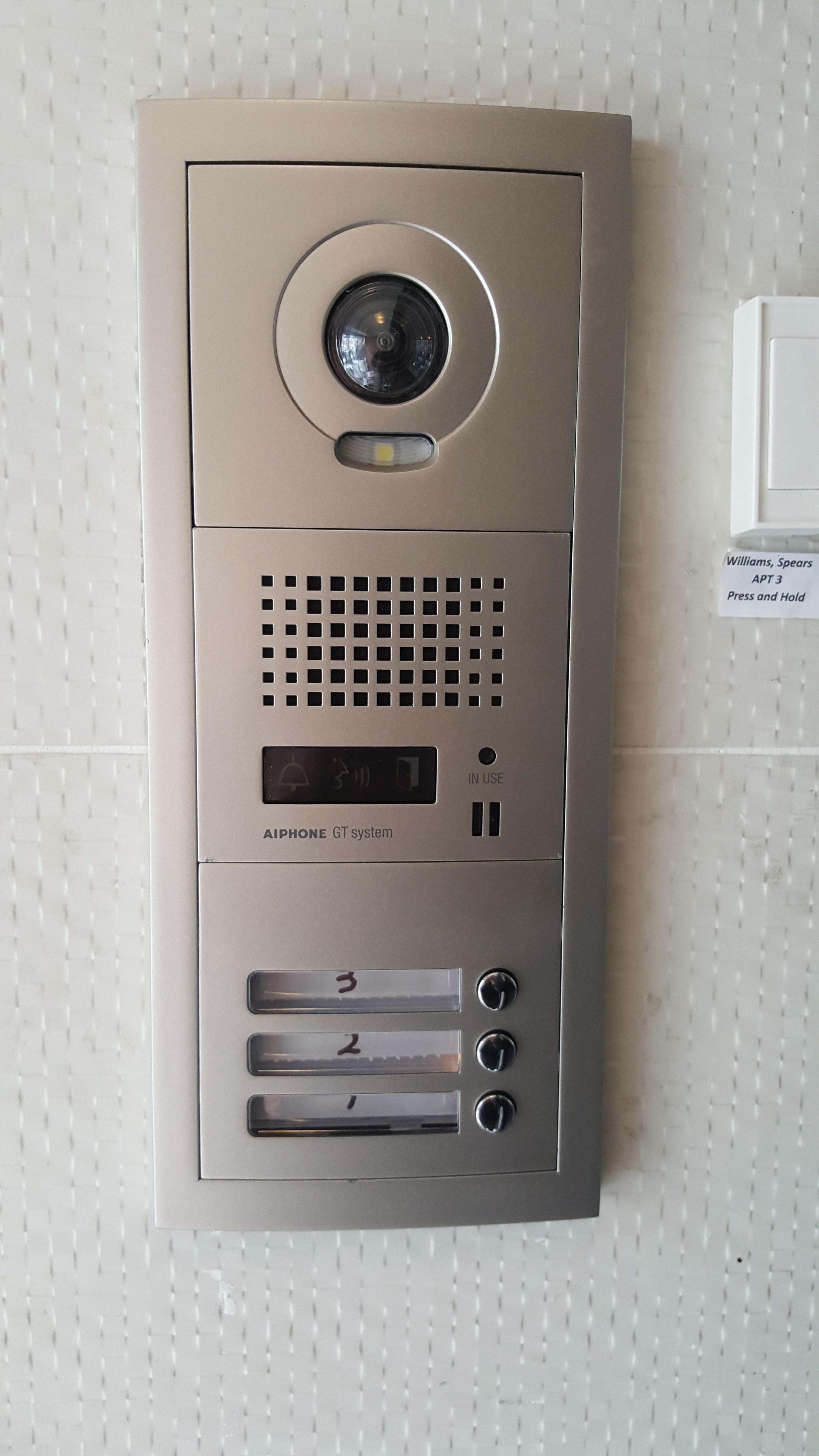 Installing intercom in the office 24