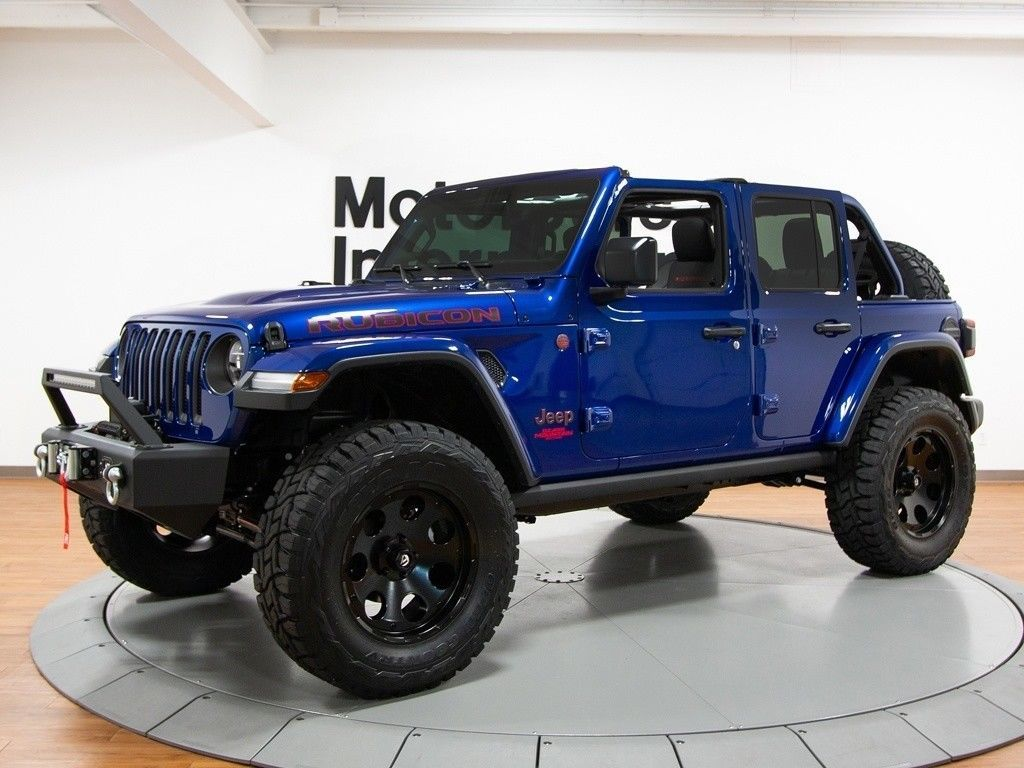 well modified 2018 Jeep Wrangler Rubicon monster truck