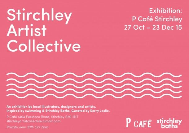 Stirchley Artist Collective: Swimming exhibition - Created in Birmingham