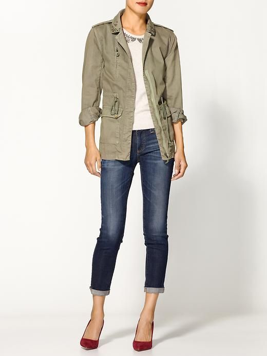 Duffle Jacket- Fall outfit!