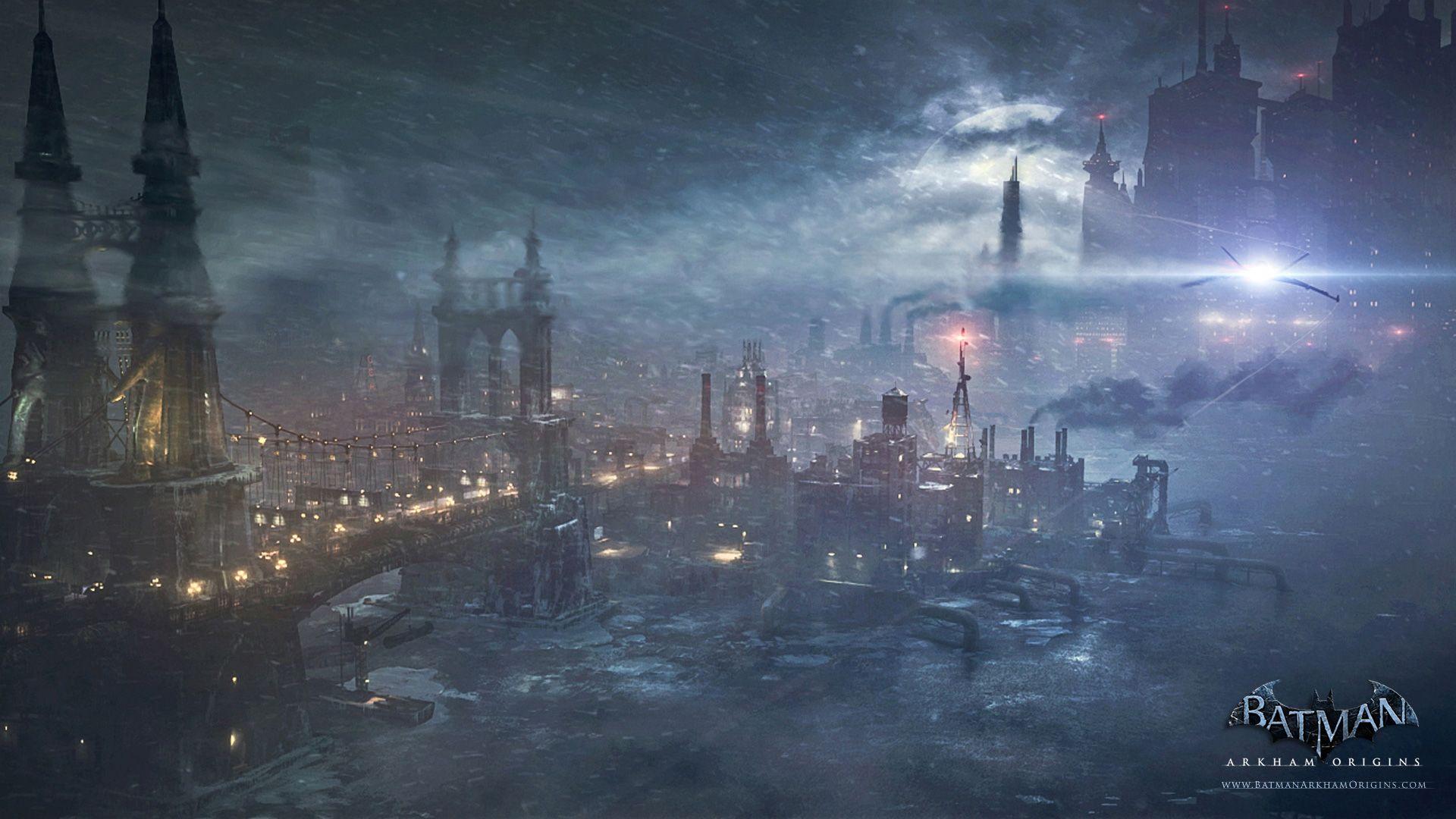 Pioneers Bridge Batman Arkham Origins