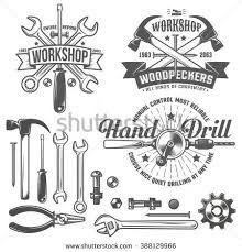 Image Result For Handyman Vector Mechanics Logo Branding Shop Retro Logo