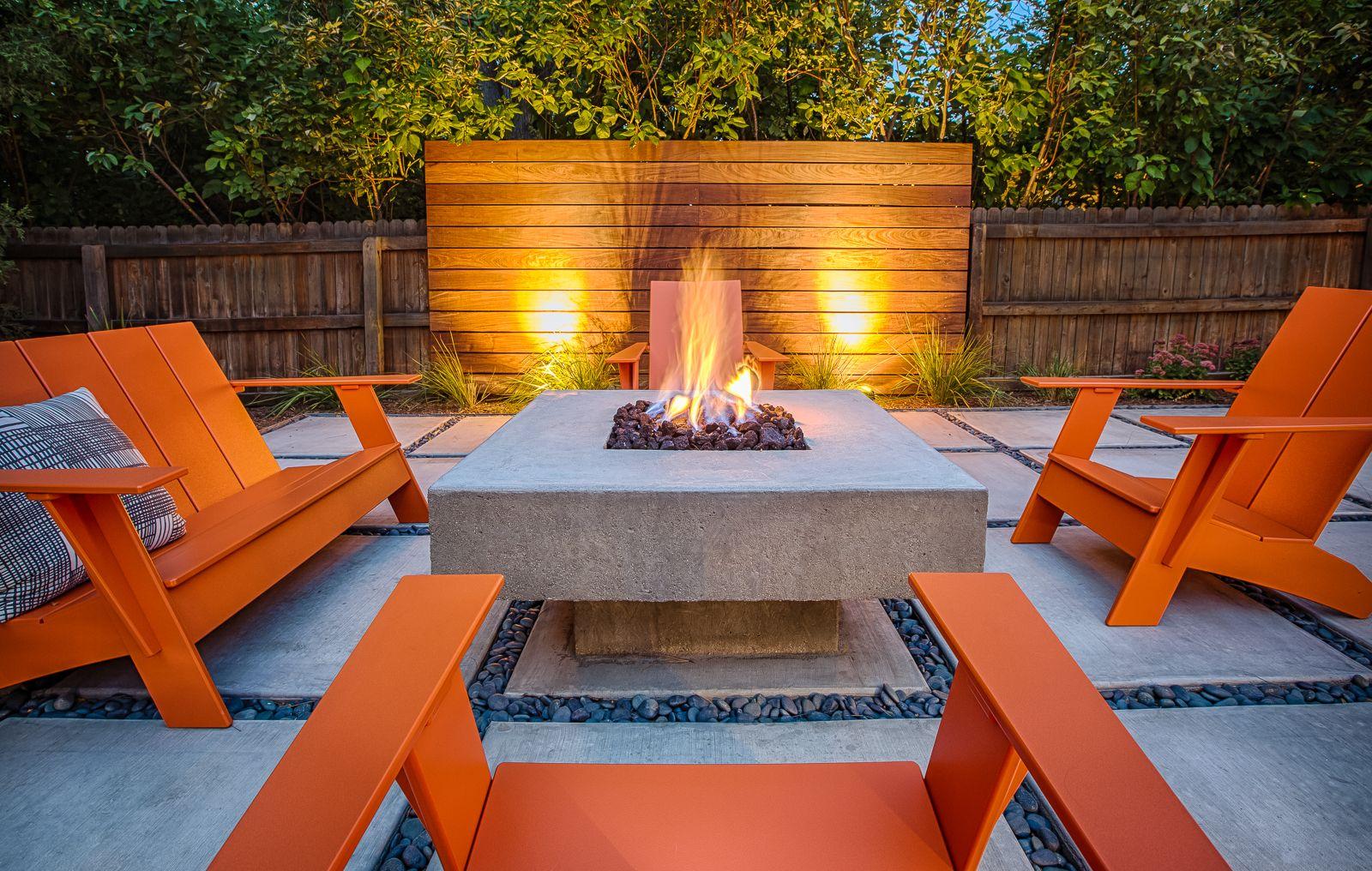 Gorgeous Modern Back Yard, Design By The Urban Garden, Inc., Denver.