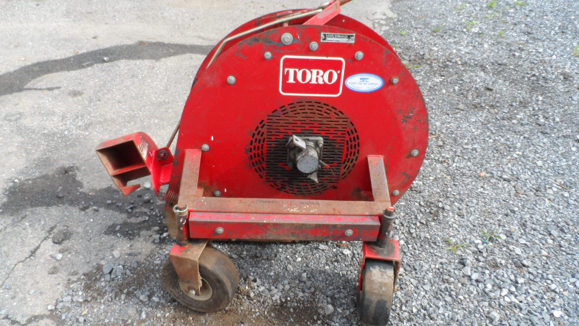 Toro Blower 4534 In Good Condition The Paint Has Started To Flake Off The Back Side The Bearings Are Quiet And Also In Good Condition No Blowers Mower Sale