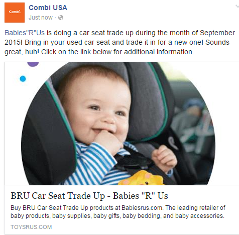 BabiesRUs Is Doing A Car Seat Trade Up During September Sounds Great Huh