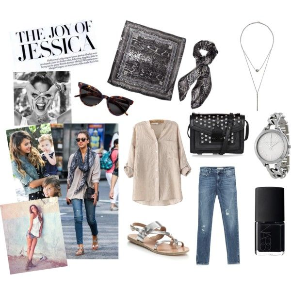 Outfit inspired by Jessica Alba