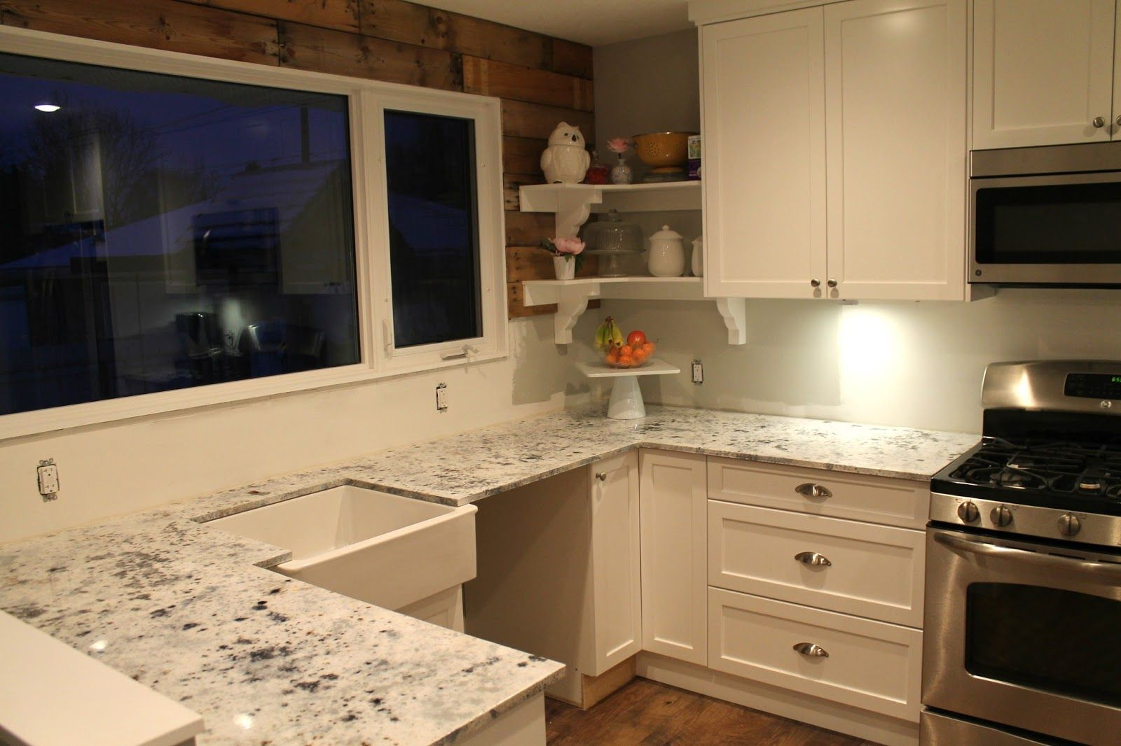 2015 kitchen white cabinets with laminate counters | White ...