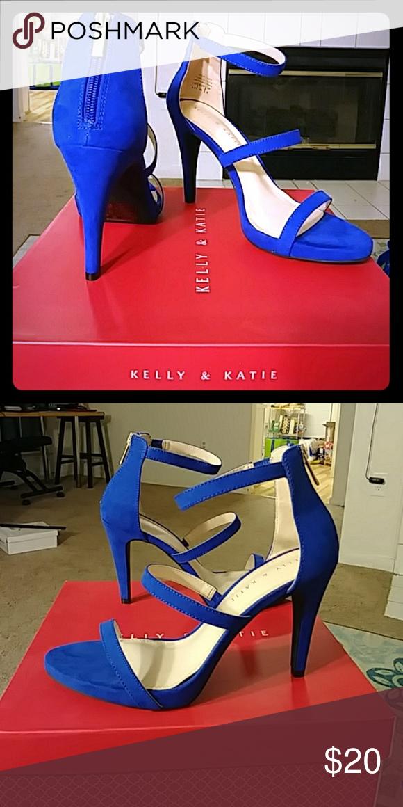 9a6d2c0ec Kelly   Katie Courtnee Platform Bluette Courtnee Strap Platform Sandal Kelly    Katie Shoes Heels