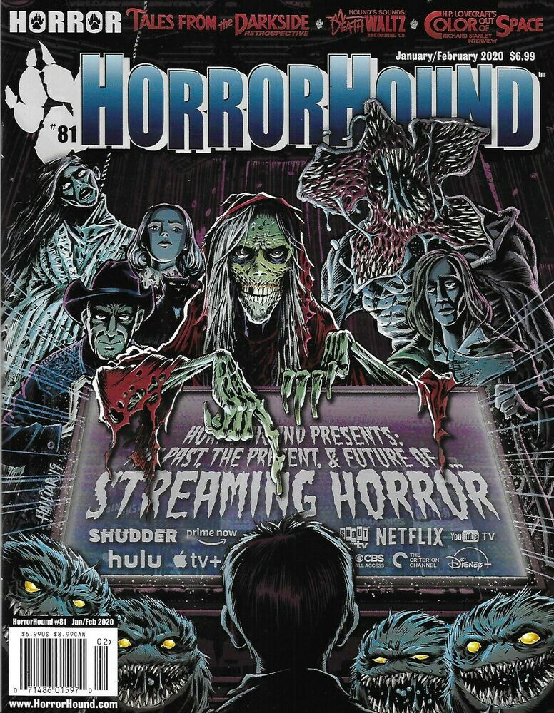 Horror Hound Movie Magazine Streaming Tales From The Darkside Color Out Of Space 71486015970 Ebay Color Out Of Space Movie Magazine Horror