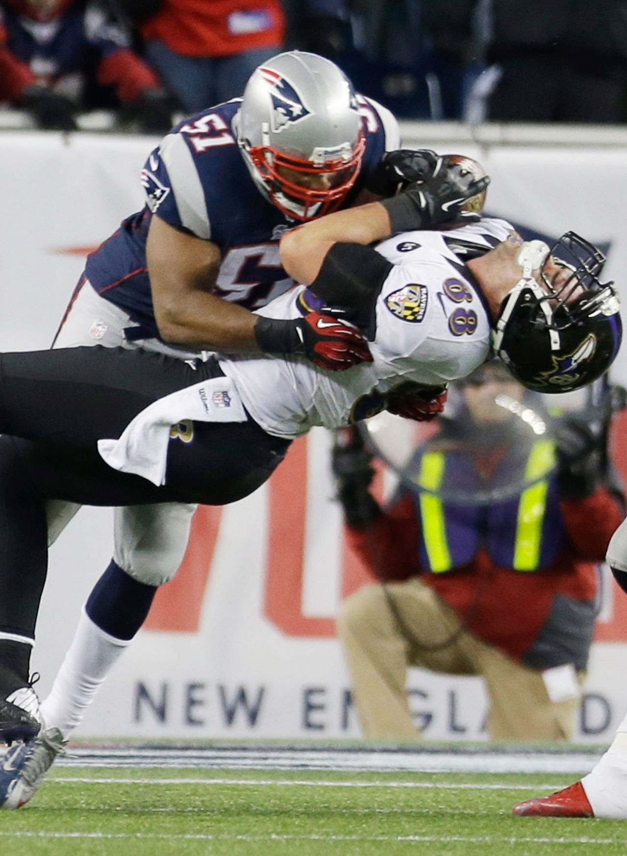 Top 10 Individual Defensive Players New england patriots
