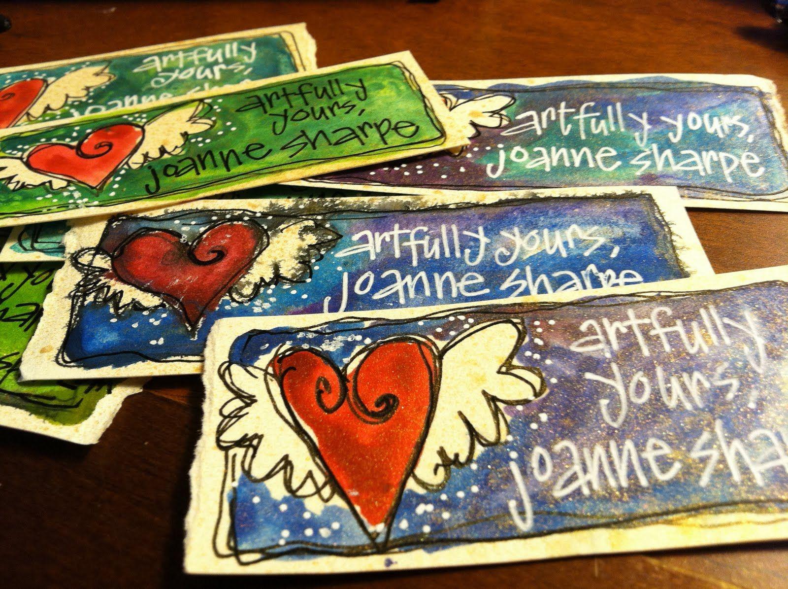 Artsy business cards artsy craftsy fun pinterest business artsy business cards magicingreecefo Gallery