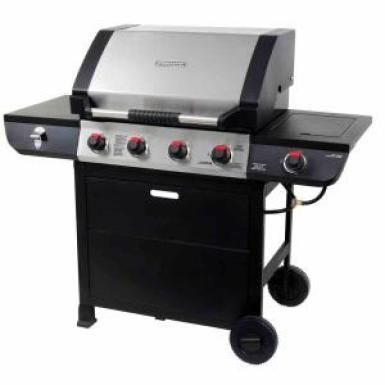 Brinkmann 4 Burner Gas Grill Home Propane Gas Grill Grilling Camping Grill