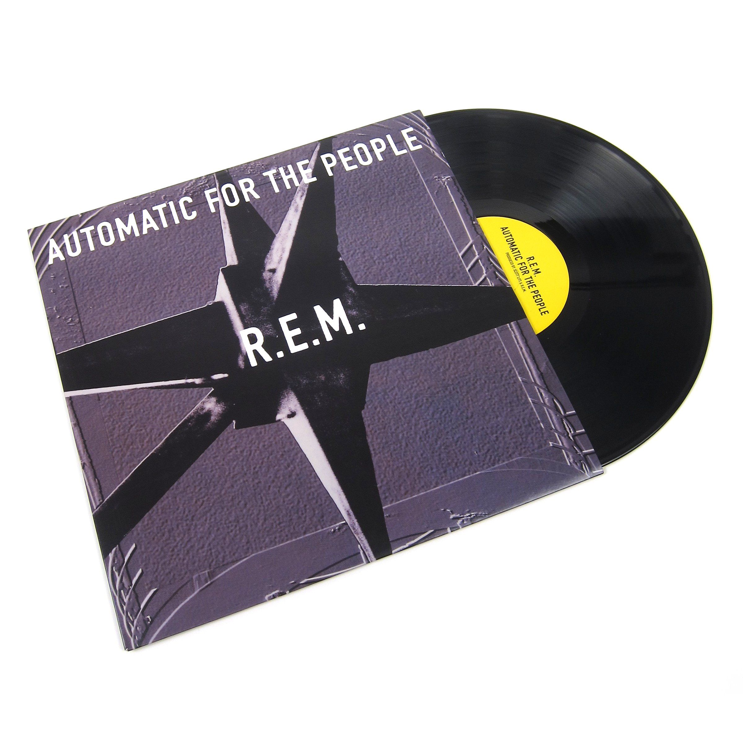 R E M Automatic For The People 25th Anniversary Edition 180g Vinyl Lp In 2020 25th Anniversary Vinyl Vinyl Record Album