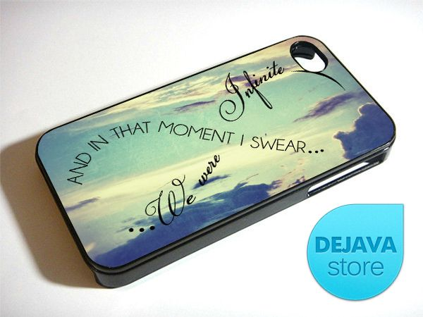 Infinity Quote Symbol Vintage Sky Iphone 4 4s Case Infinity