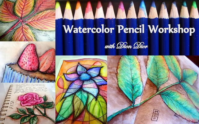 Watercolor Pencil Workshop Watercolor Pencil Art Watercolor