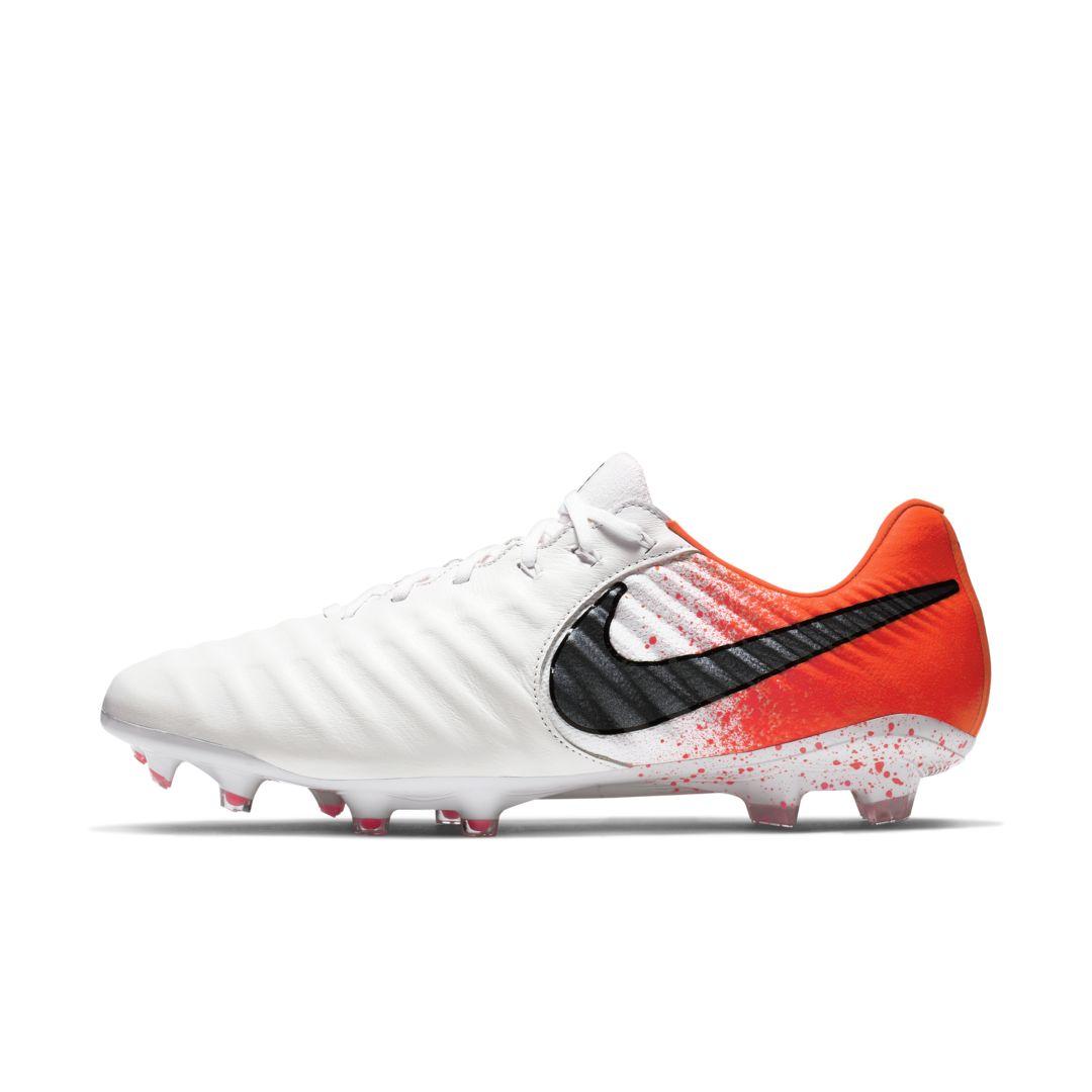 Nike Tiempo Legend Vii Elite Fg White Metallic Cool Grey Soccerpro Tachos De Futbol Deportes Futbol