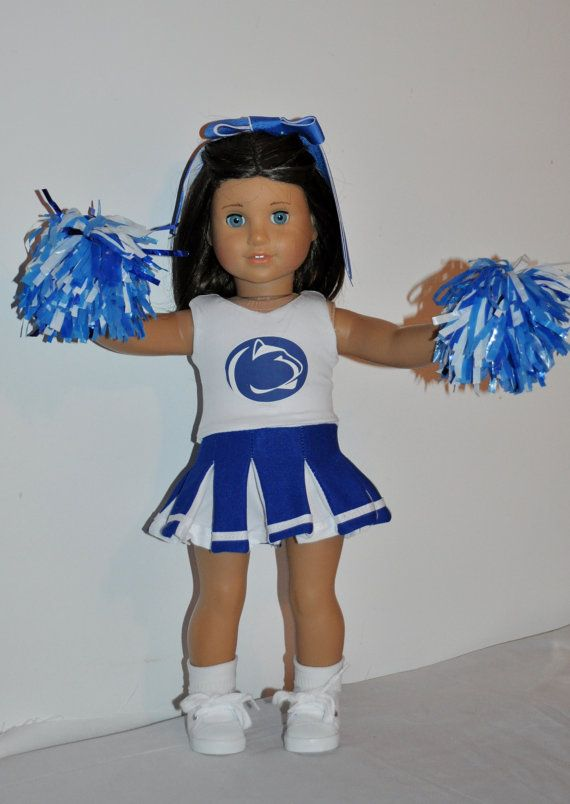 PENN State Cheerleader outfit that fits by DOLLYDUDSBYBECKIE ...