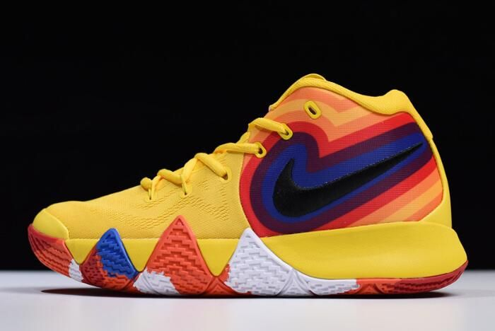 b72bf6443c4 Nike Kyrie 4 EP 70s Yellow Multicolor Uncle Drew For Sale