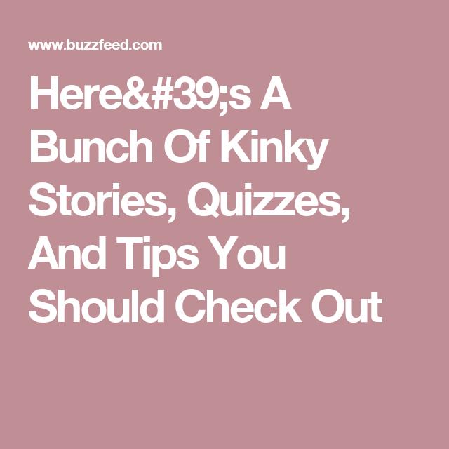 Sex life quizzes