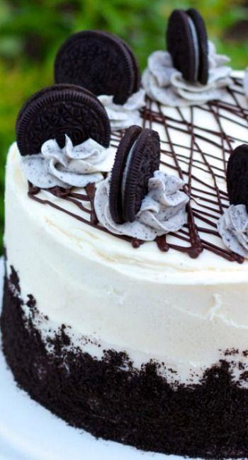 Oreo Cake How An Oreo Cheesecake Should Be Decorated Oreo Cake