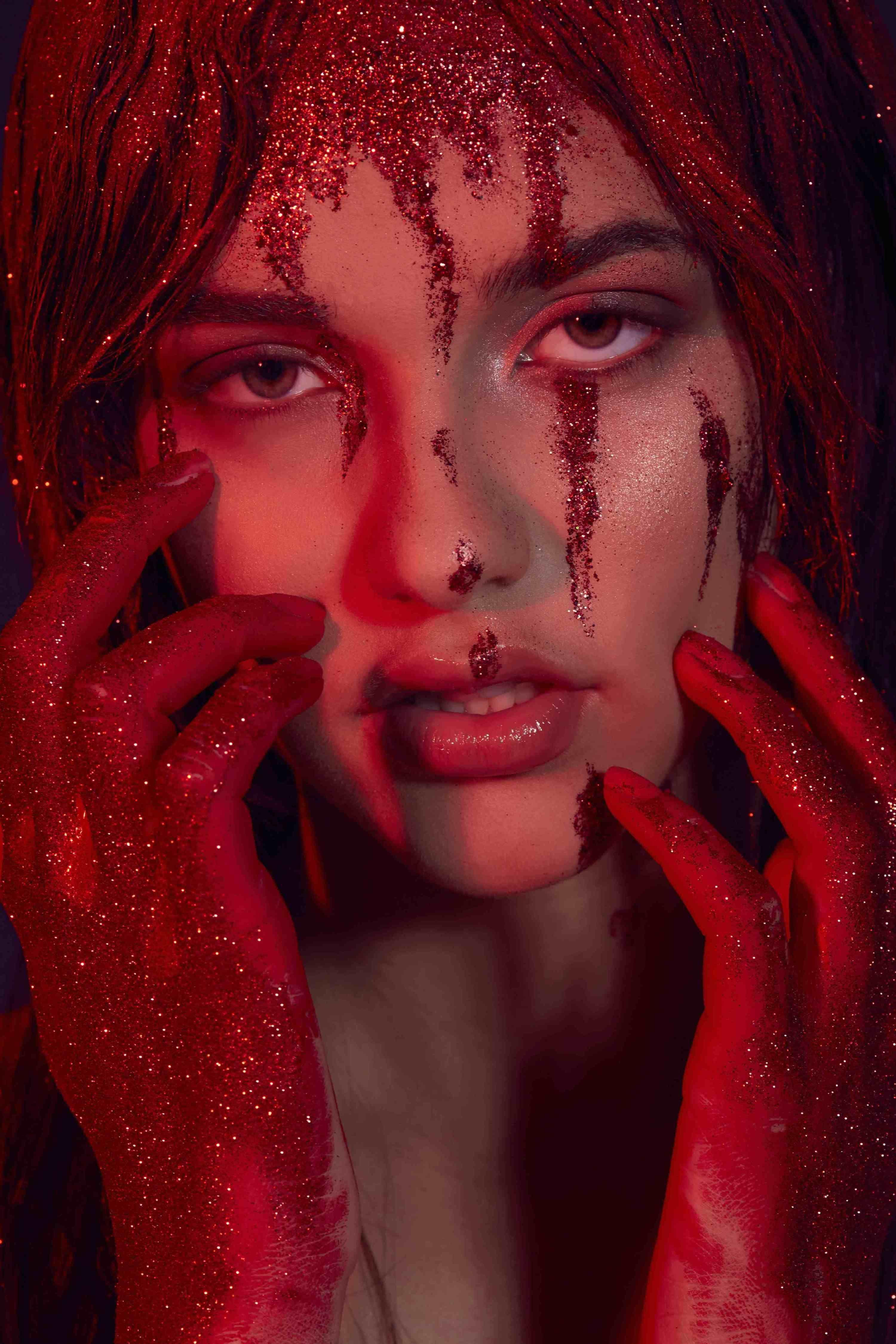 Lessons From The Pros Halloween Beauty Carrie white