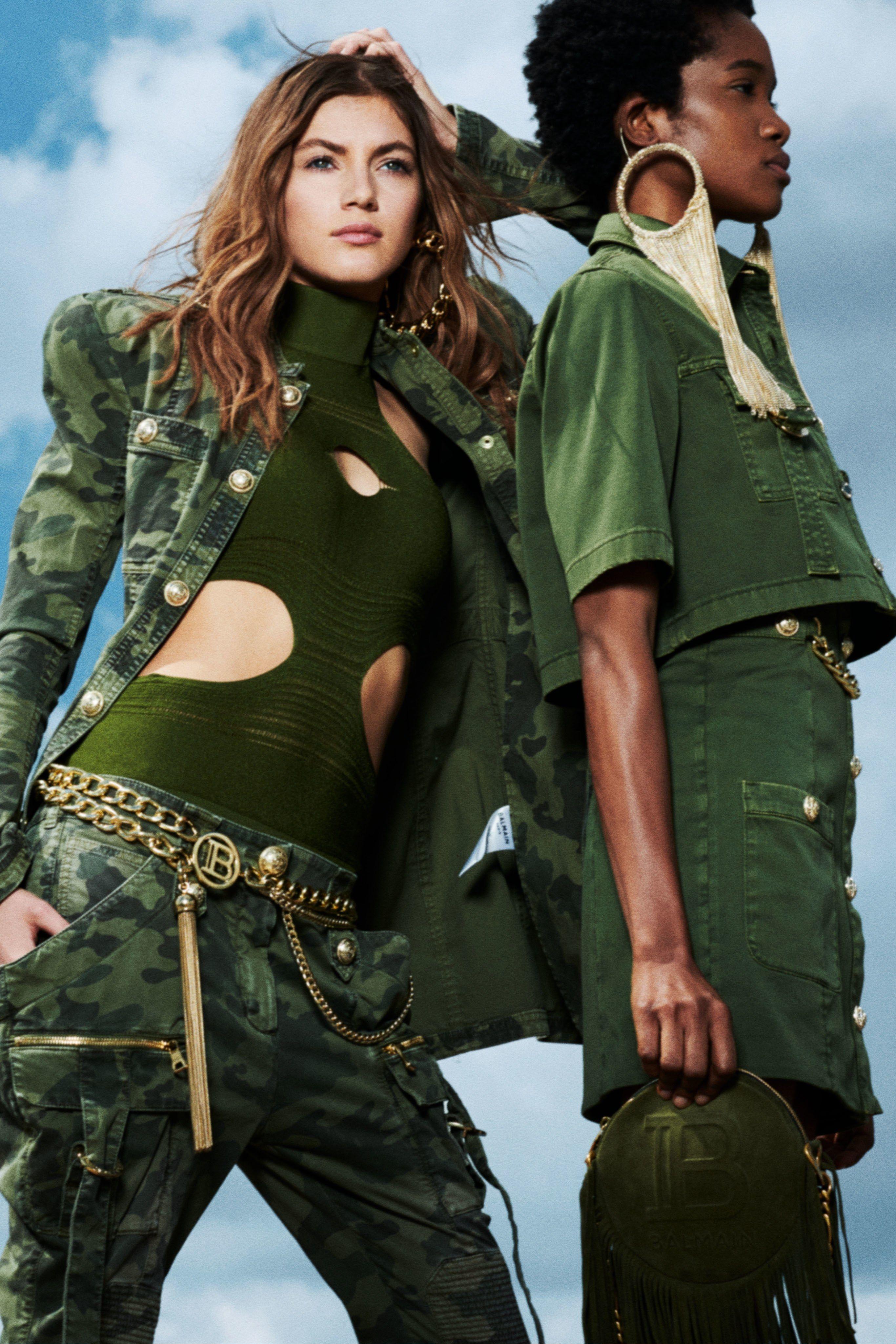 Резултат со слика за Military fashion 2020