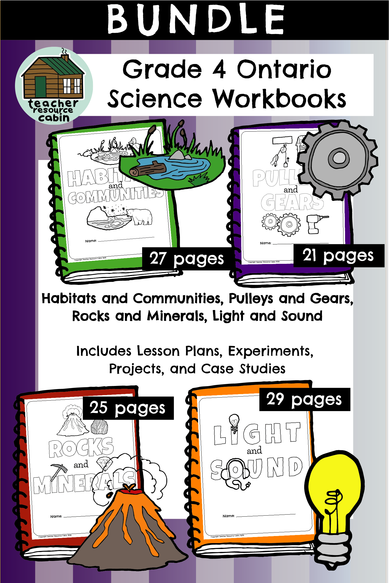 Ontario Science Workbook Bundle Grade 4 In