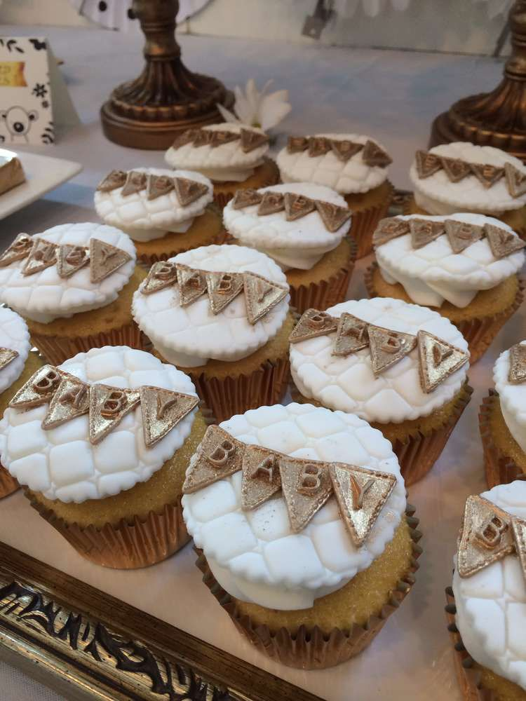 Baby Shower Party Ideas Baby Shower Cupcakes Neutral Baby