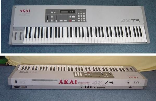 Akai Ax73 With Images Synthesizer