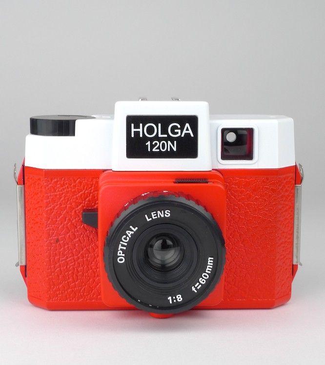 Holga 120N Red & White #camera #lomo