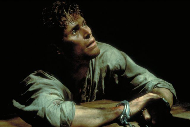 Still of Willem Dafoe in The English Patient
