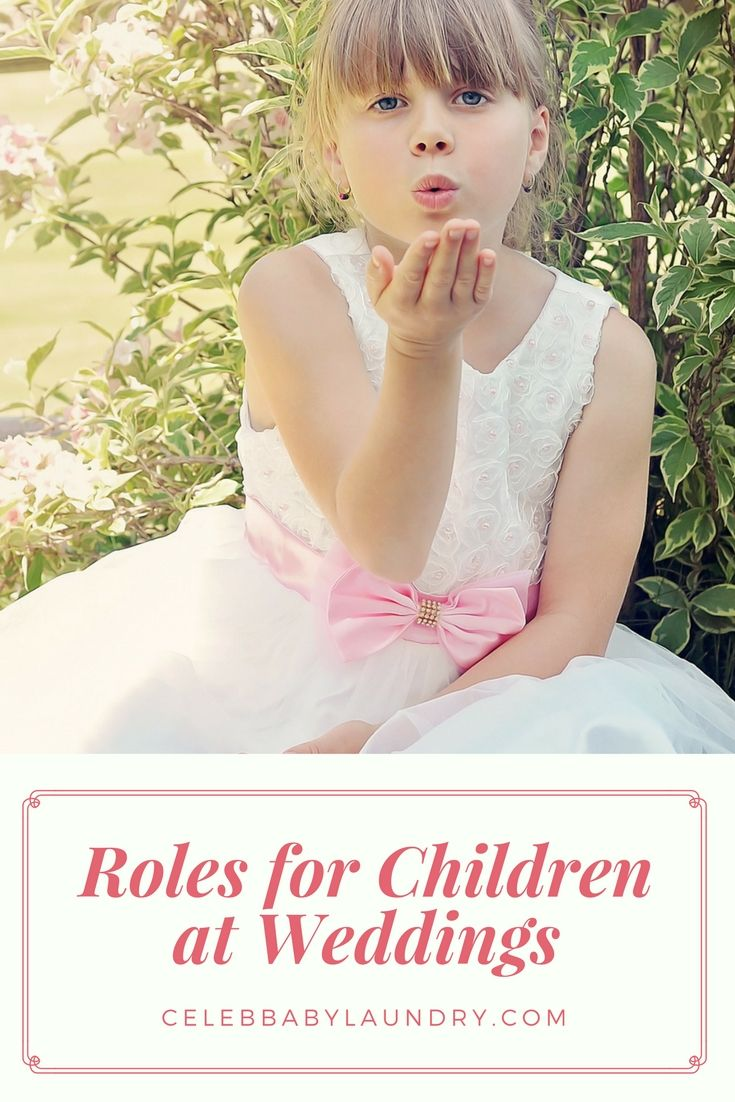 Wedding Roles For Children: 3 Great Ways To Participate In That Special Day! -   16 wedding Party roles ideas