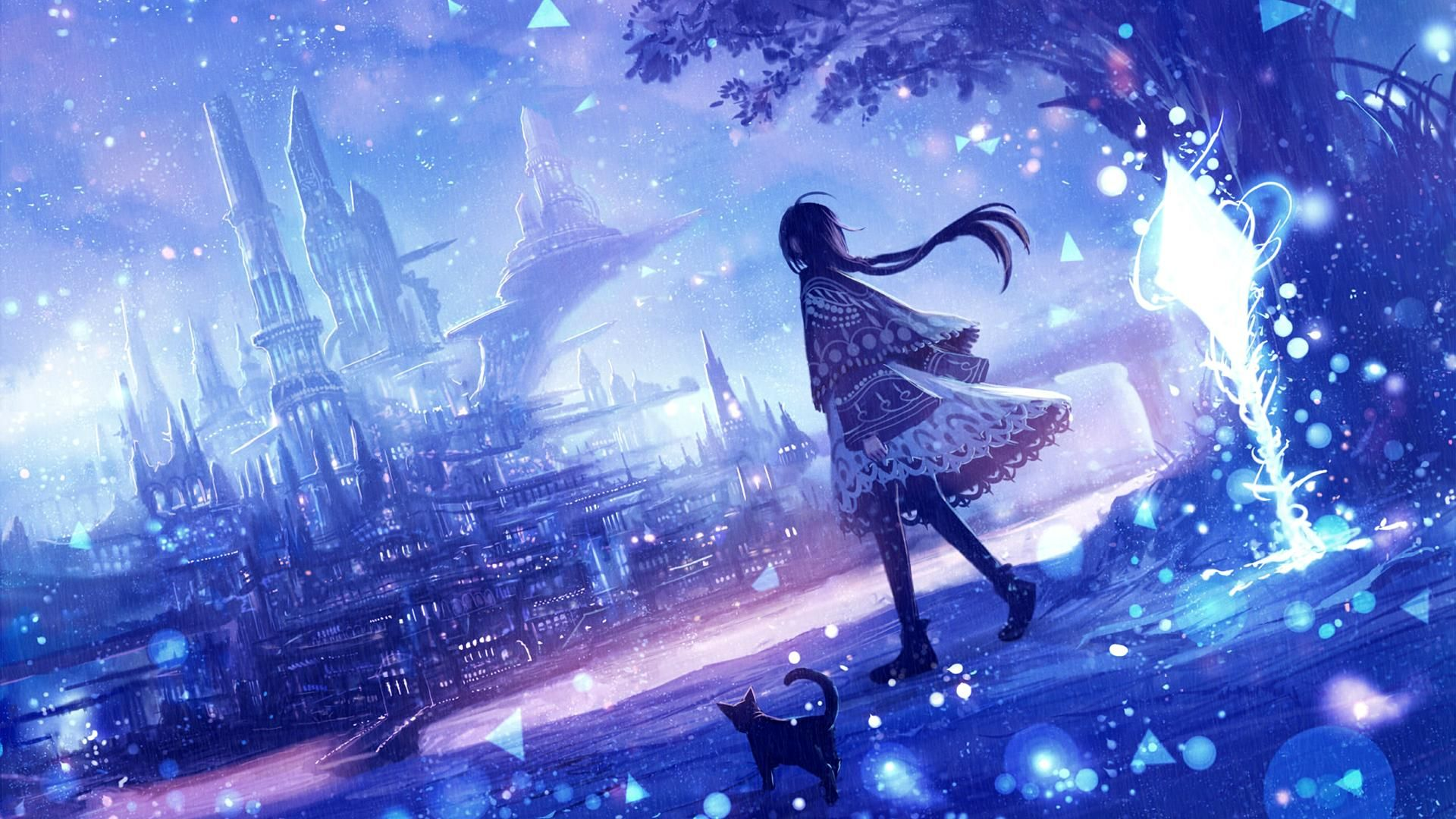 Mystical Original 1920x1080 Anime Wallpaper 1920x1080 Anime Backgrounds Wallpapers Anime Scenery