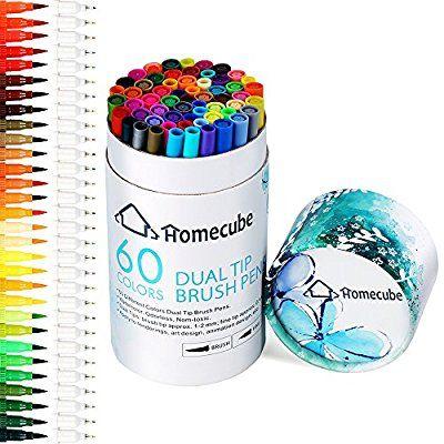 Pinselstift Set Mit Zwei Spitzen Homecube Aquarellstifte Aquarell