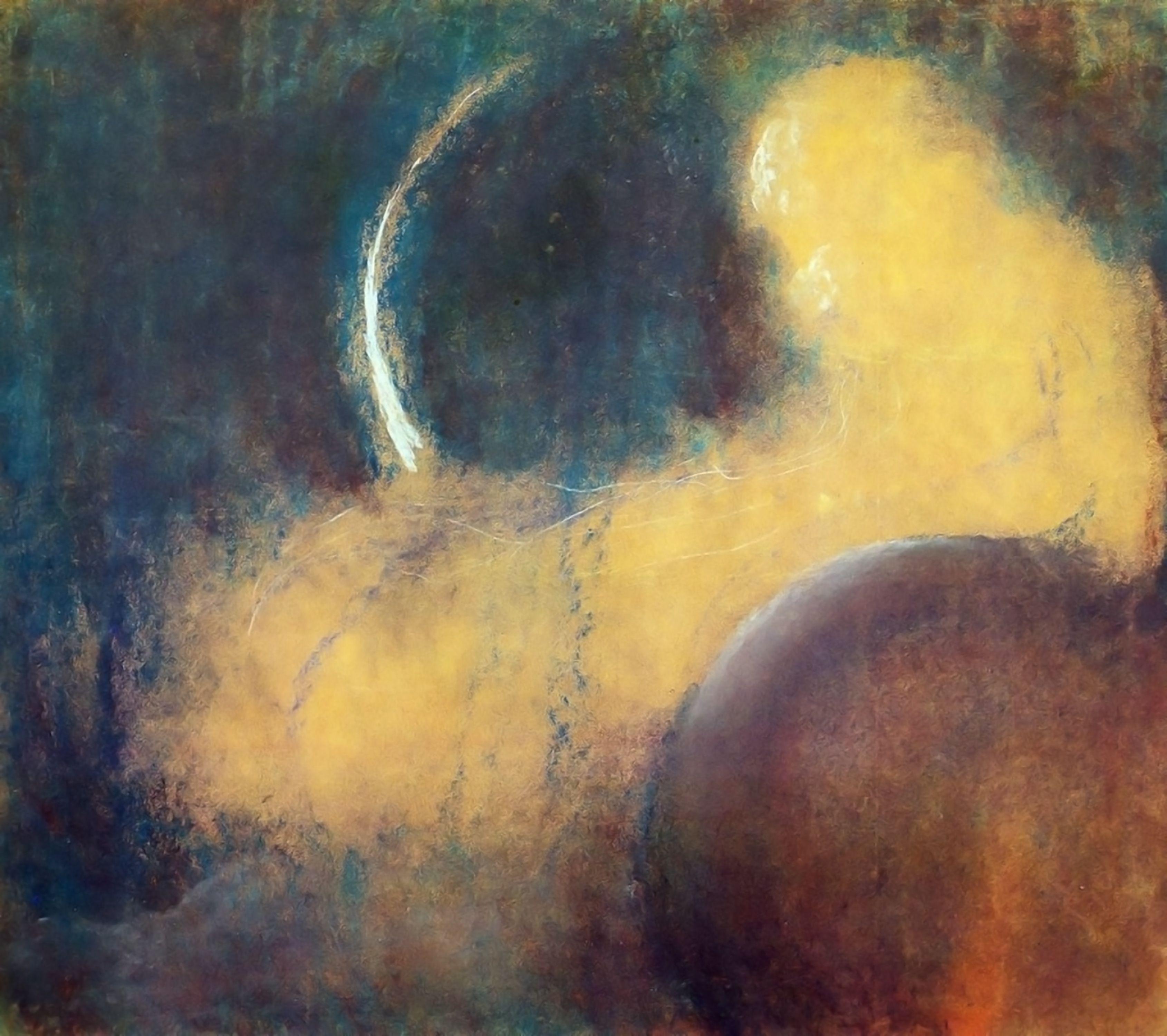 ミカロユスチュルリョーニス night   絵画
