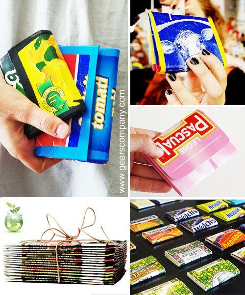Ideas para hacer con ni os monedero tetra brik paso a for Casetas para guardar cosas