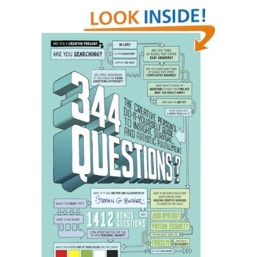 Amazon 344 questions the creative persons do it yourself amazon 344 questions the creative persons do it yourself guide solutioingenieria Choice Image