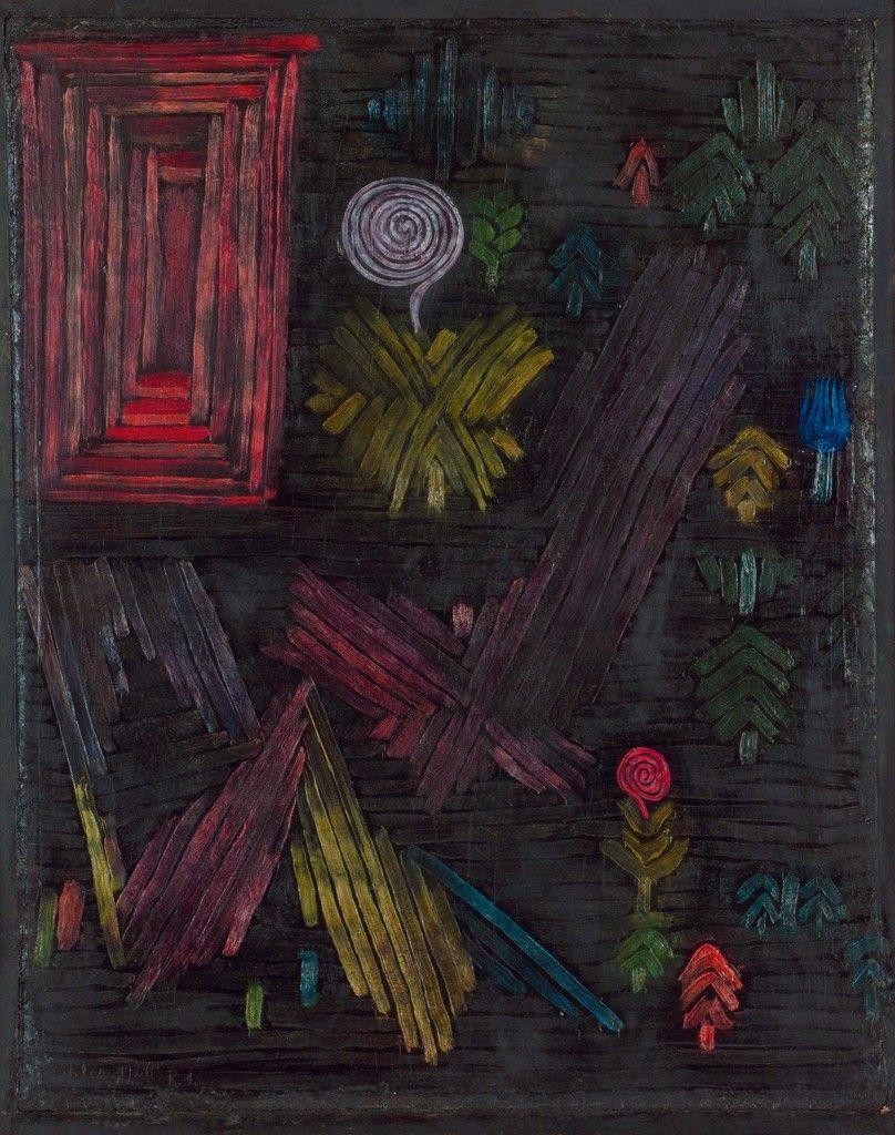 Paul Klee Tor Im Garten Gate In The Garden 1926 Paul Klee Abstract Artists Artwork