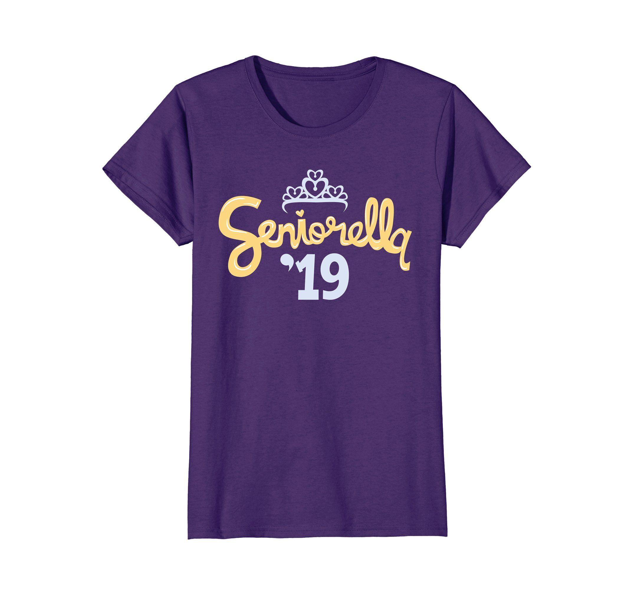 Seniorella '19 Funny Class of 2019 Senior Girls Tshirt