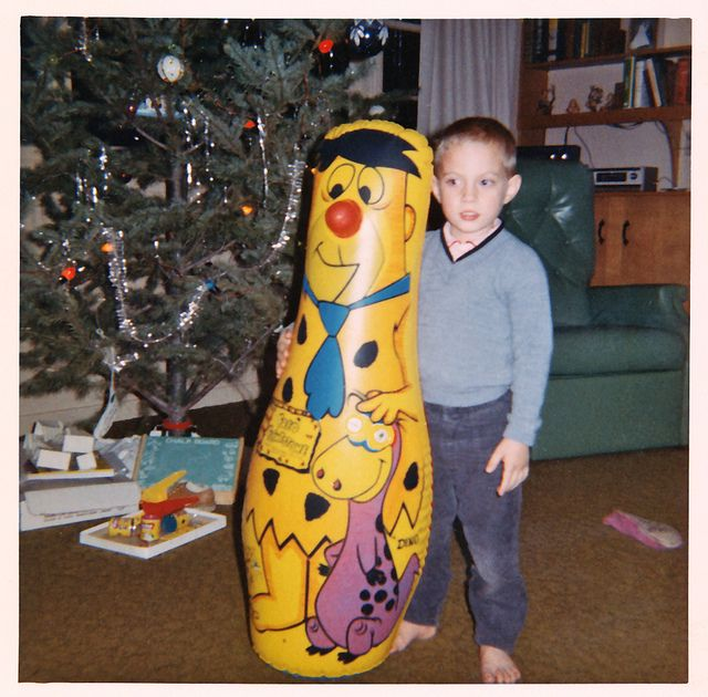 Vintage Christmas with Fred Flinstone