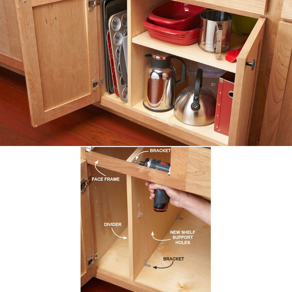 10 Kitchen Cabinet Drawer Organizers You Can Build Yourself Kitchen Cabinet Drawers Kitchen Cabinets Storage Organizers Kitchen Cabinets