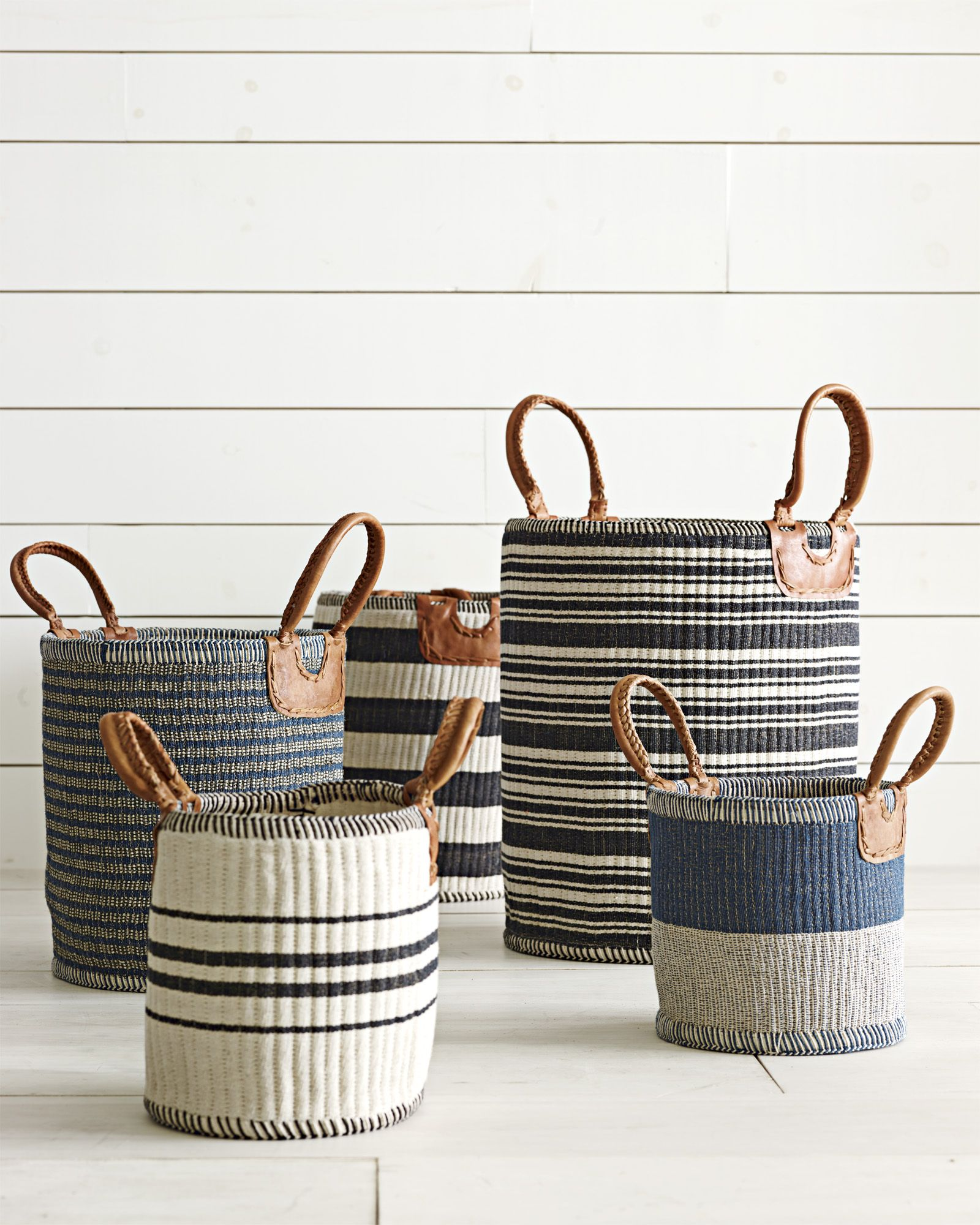 The Chicest Storage Solutions - Huntington Baskets #Serenaandlily - Living