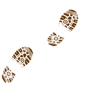 Muddy Boot Tracks Clipart Clip Art Shoe Print Prints