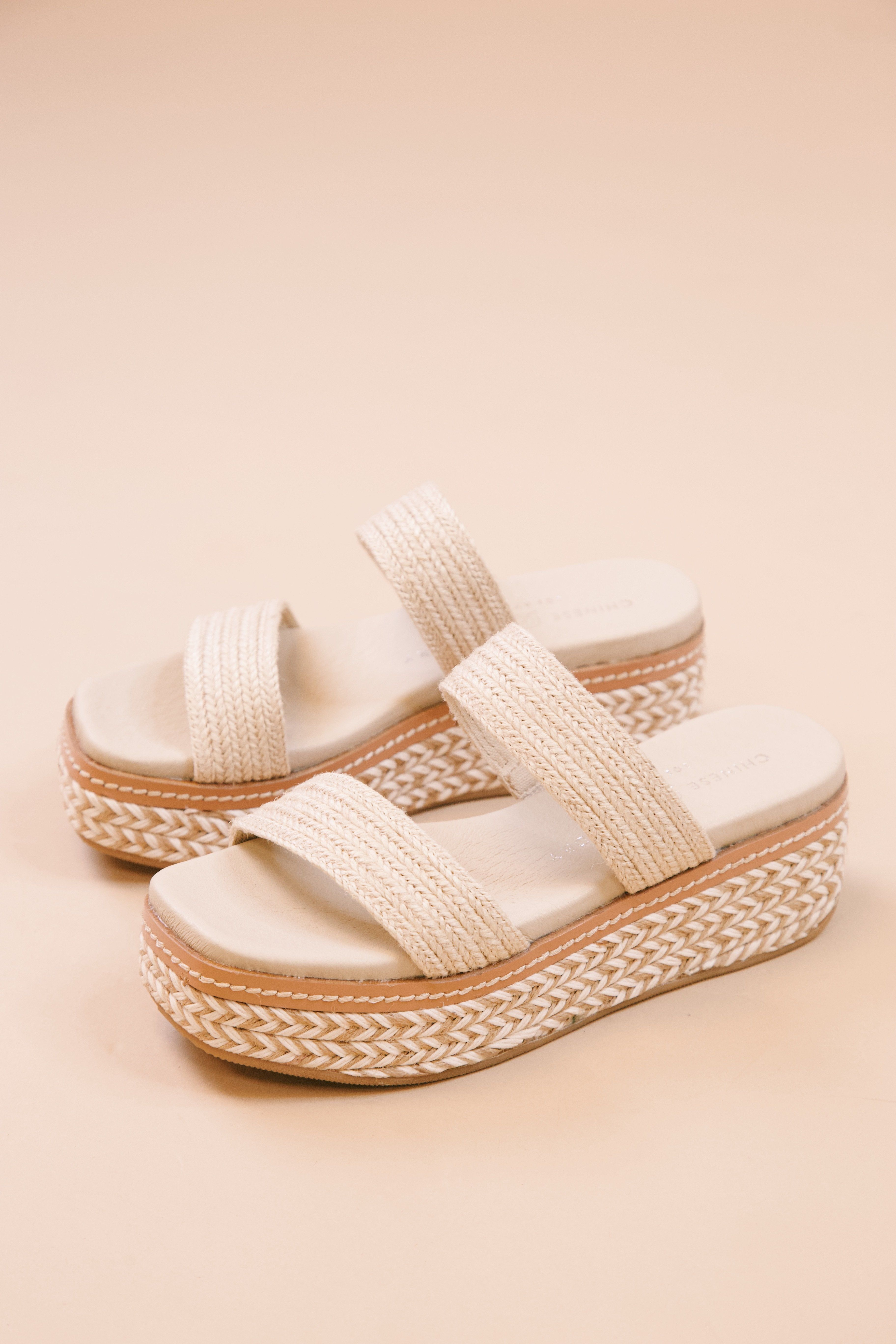 Zion Platform Sandal Cream Natural Chinese Laundry In 2020