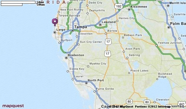 Dunedin, FL Map | MapQuest | dream home ideas | Pinterest